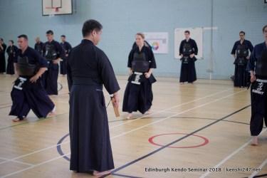 Teaching ashisabaki