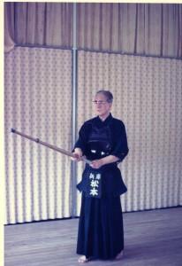 Matsumoto Toshio sensei