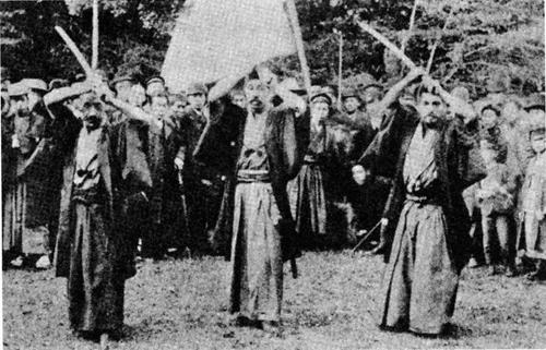 (l-r) Mona Tadashi, Sasaki Masanobu, Naito Takaharu
