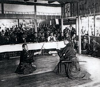 Hokushin itto-ryu embu at Tobukan