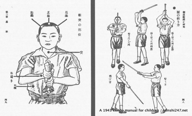 1943 - from kids kendo manual