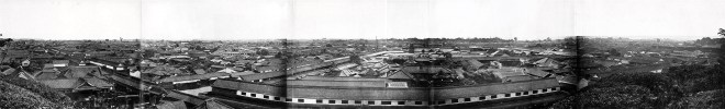 Edo in panorama, 1865 or 66