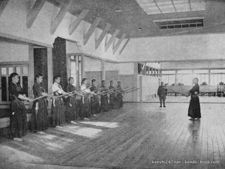 Kendo at Toyama Military Academy