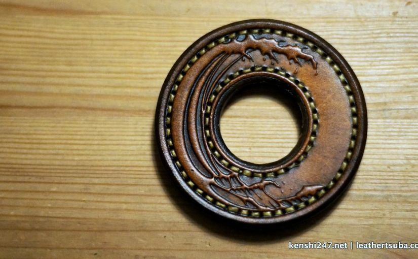 "<span class=""entry-title-primary"">Leather Tsuba (review #2)</span> <span class=""entry-subtitle"">革鍔</span>"