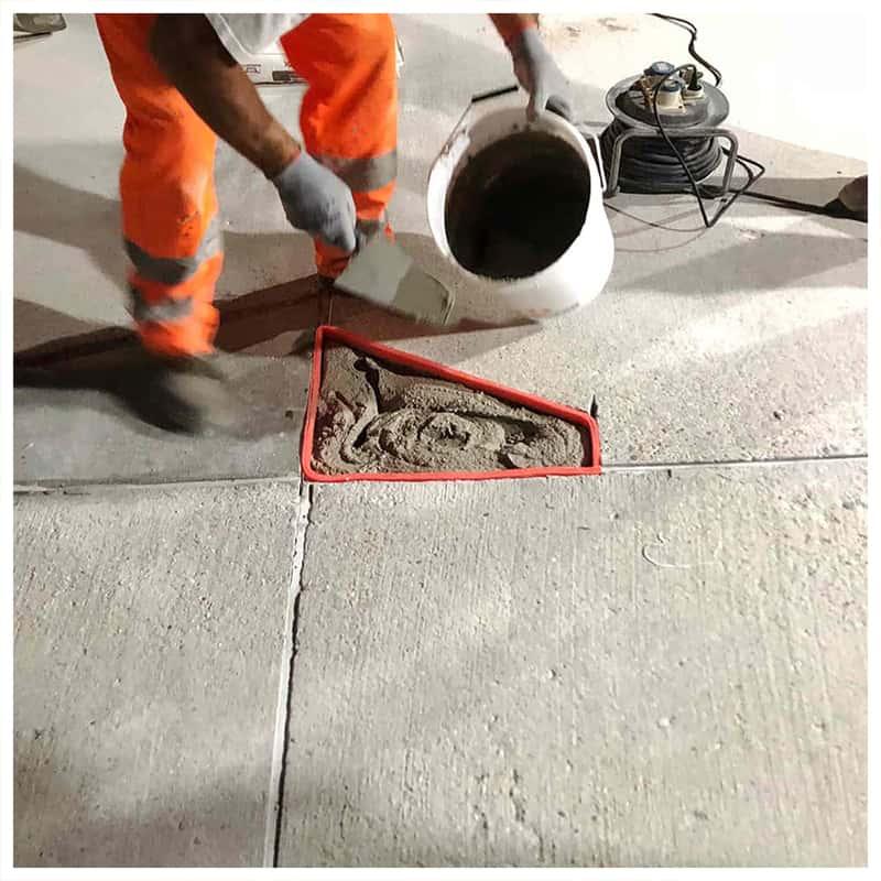 Masa do naprawy betonu Crono - naprawa betonu.