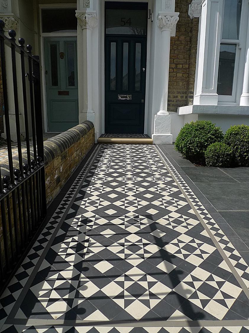 Kensington Mosaic Tile  Landscape Gardeners and Designers