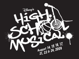 High School Musical Logo Black Box