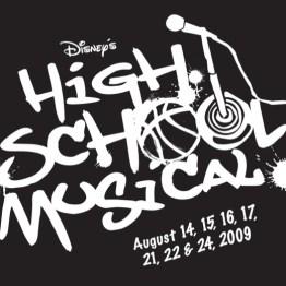 High School Musical Logo Black Box
