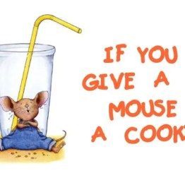 If You Give a Mouse a Cookie Logo Square