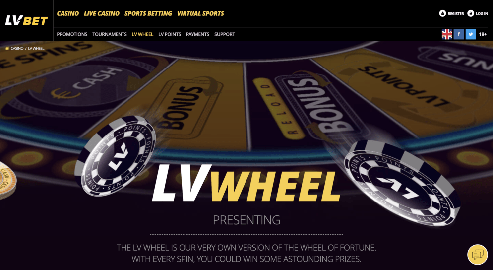 LV Bet Presents the Wheel