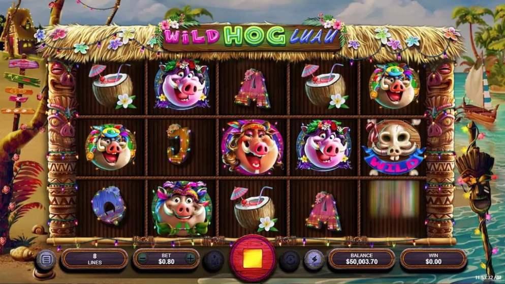 Tiki Slots - Wild Hog Luau