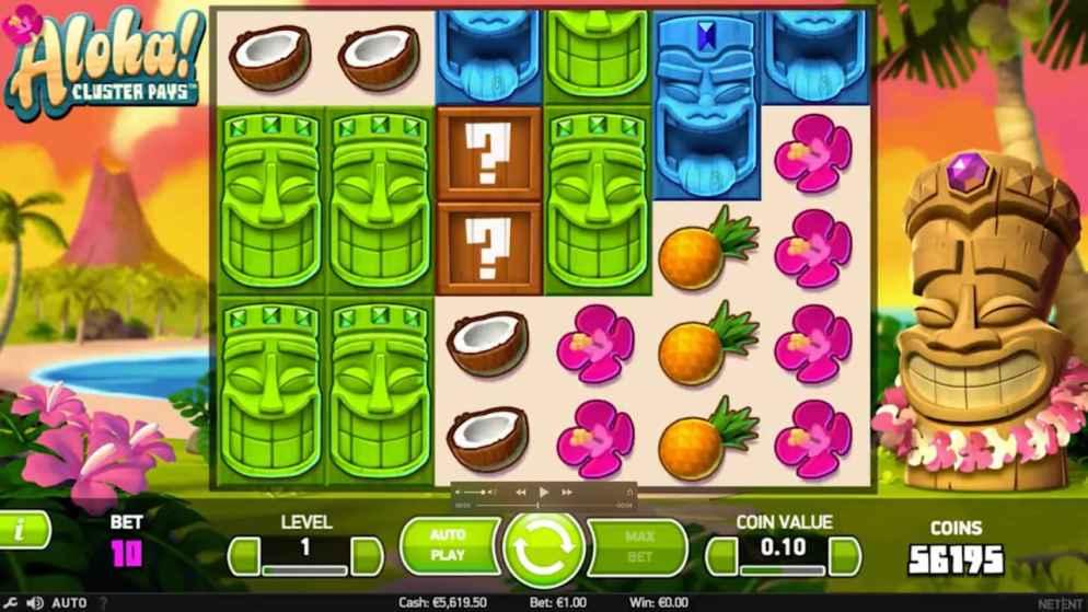 Tiki Slots - Aloha Cluster Pays