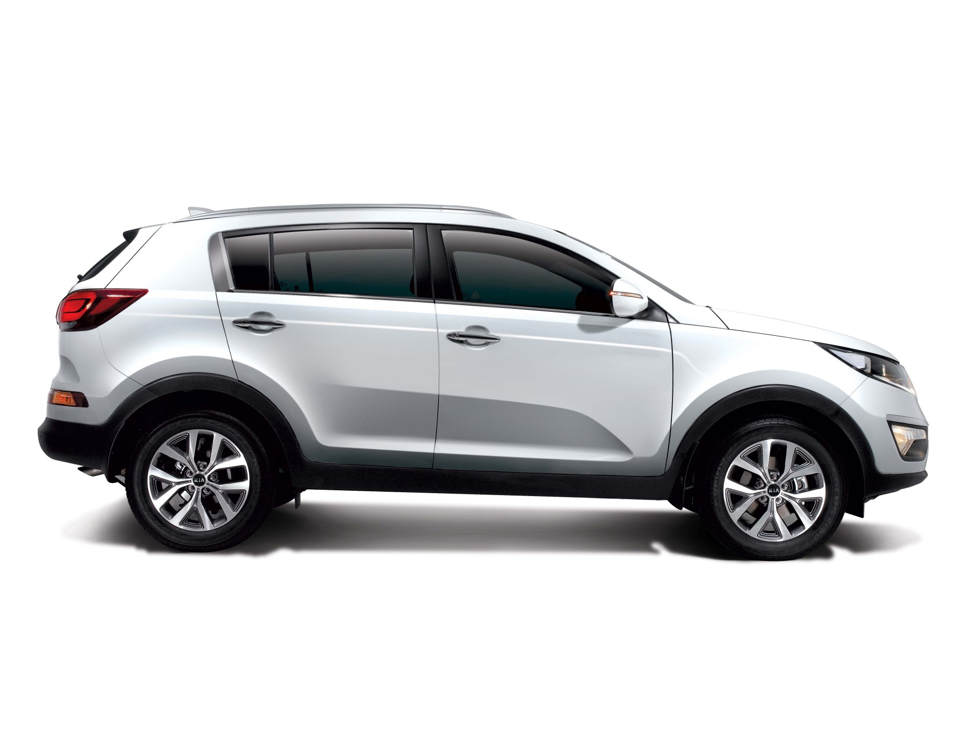 hight resolution of sportage 2wd side view