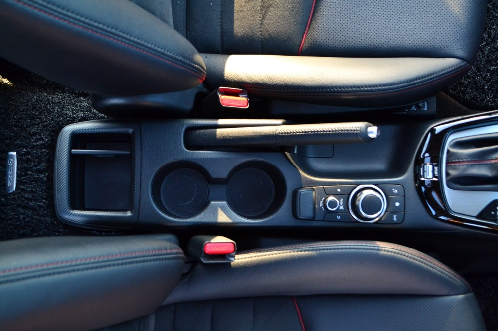 medium resolution of only the hr v has a center armrest with a compartment in this group and