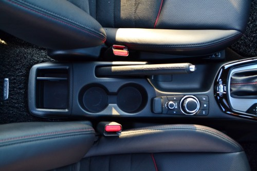 small resolution of only the hr v has a center armrest with a compartment in this group and