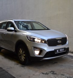 without looking at the badge you might not be able to tell it s a sorento compared to the second generation picture above the third gen sorento has a  [ 1383 x 922 Pixel ]