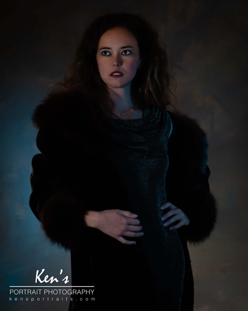 Warmth, Style, and Sophistication by Kens Portrait Photography. Chandra was in my studio this week for a fashion portrait experience. The faux fur trimmed coat not only add alayer of warmth but also a layer of style and sophistication. My photography studio is located right on the southwest corner of West Capital Park in Albany, NY. In addition to what can be created in the studio, this historic and architecturally rich area provides beautifulbackdrops for professional portraits, couple portraits, senior portraits, family portraits, engagement portraits, and wedding portraits.