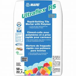 ultraflex rs 22 7 kg rapid setting tile mortar with polymer