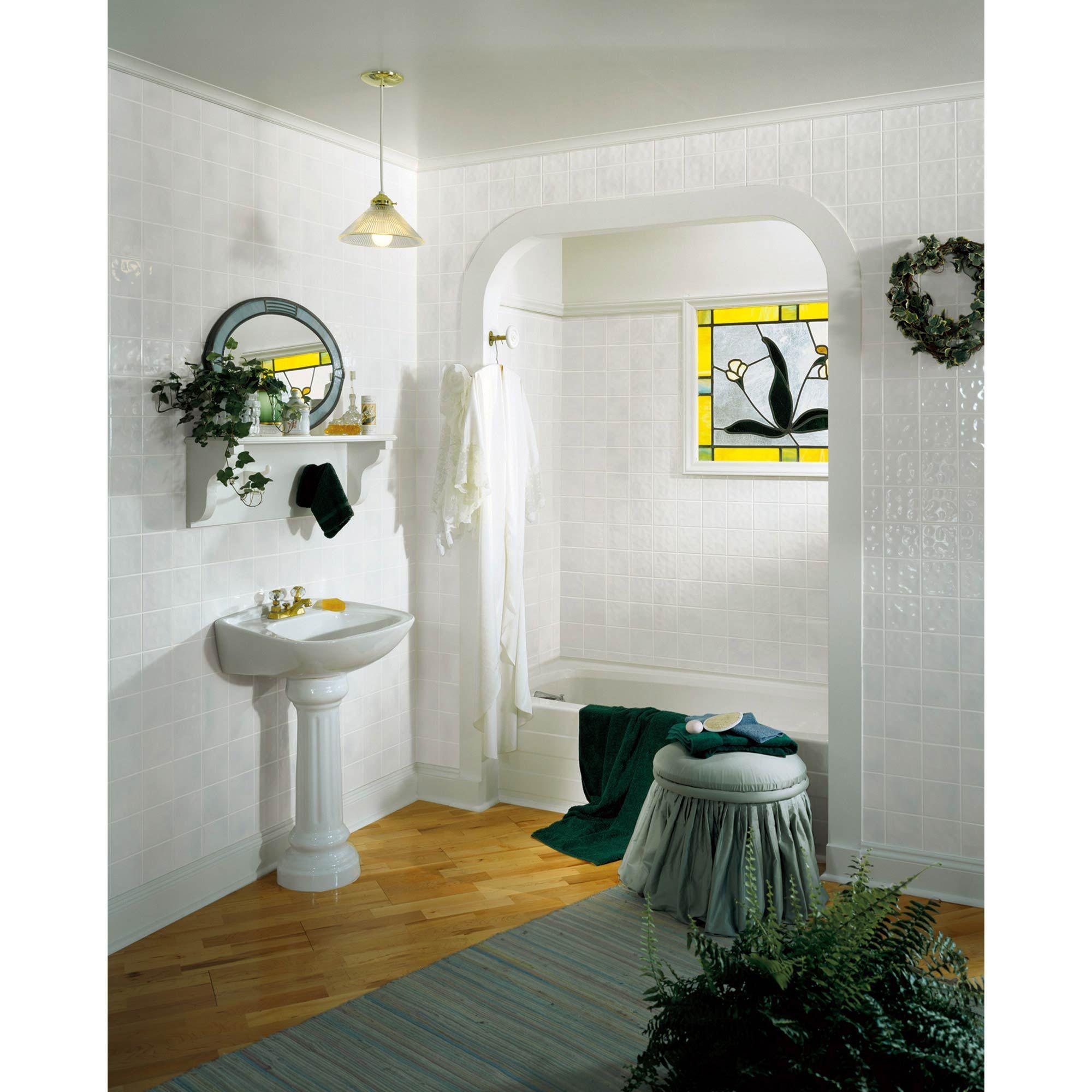 4 x 8 toned white tile board fully waterproof