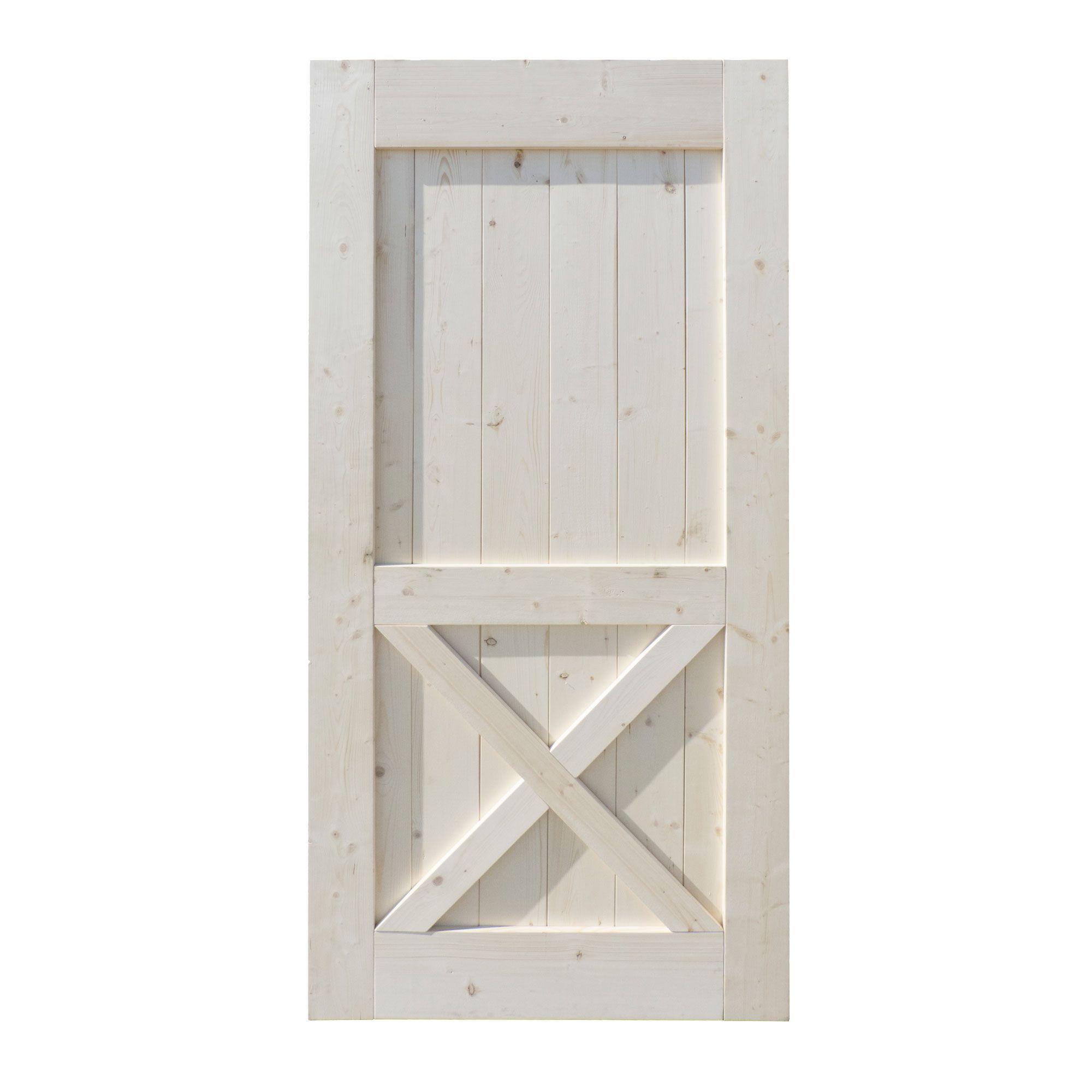 33 X 1 X 84 Chicago Barn Door Interior Doors Kent Building Supplies