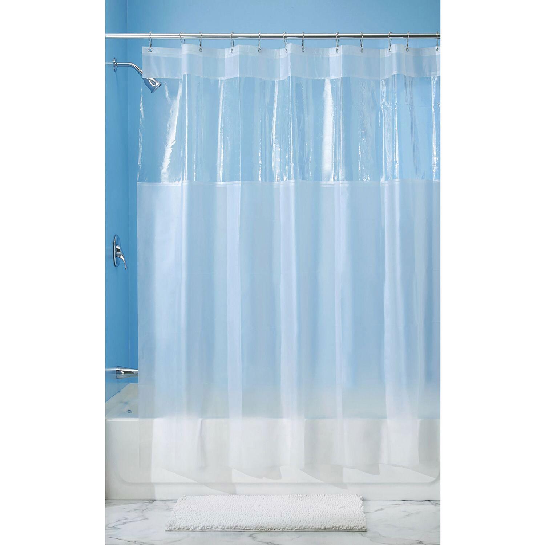 54 x 78 clear hitchcock eva shower stall curtain