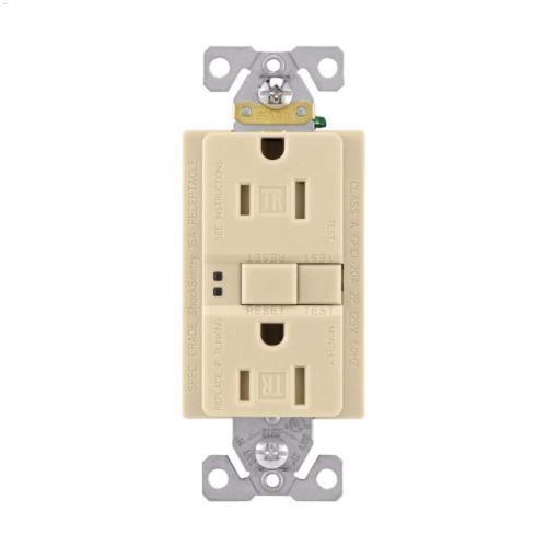 small resolution of ivory gfci receptacle 15a 2p 3w
