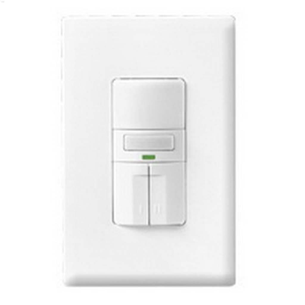 hight resolution of white 3 way motion sensor dual switch with led 120v 1p