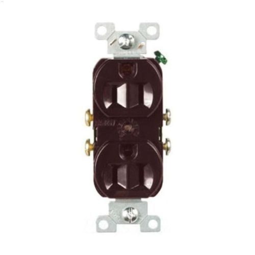small resolution of brown duplex receptacle 15a 2p 3w