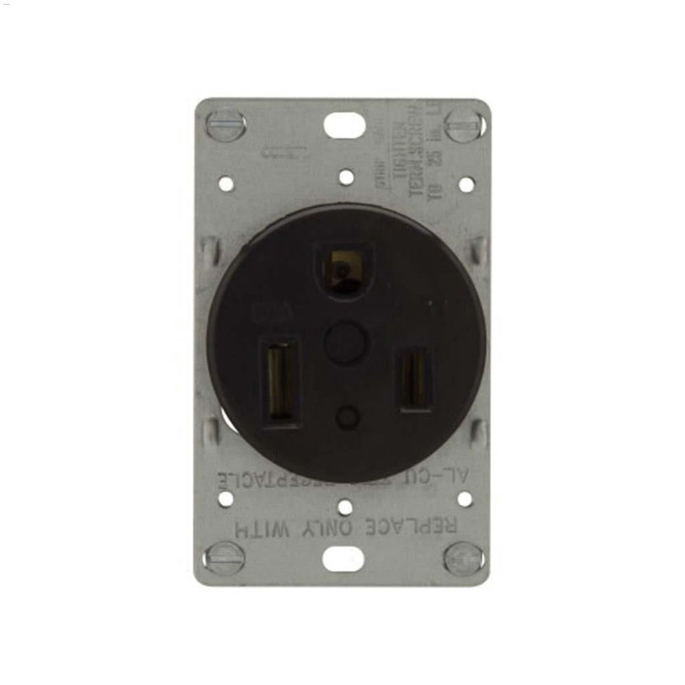medium resolution of black power receptacle 50a 2p 3w