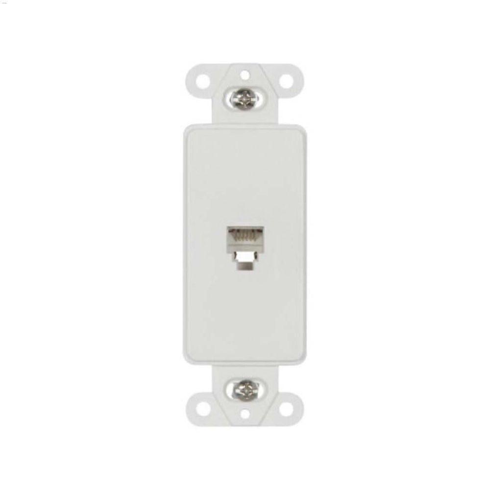 medium resolution of white thermoplastic telephone jack decorator insert white thermoplastic telephone jack decorator insert cooper wiring devices