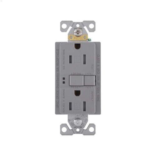 small resolution of silver granite gfci receptacle 15a 2p 3w