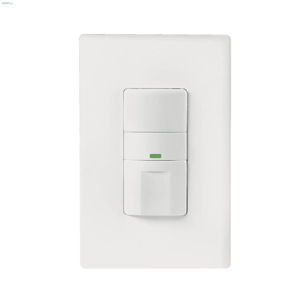 medium resolution of white passive infrared pir motion sensor switch 120v 1p