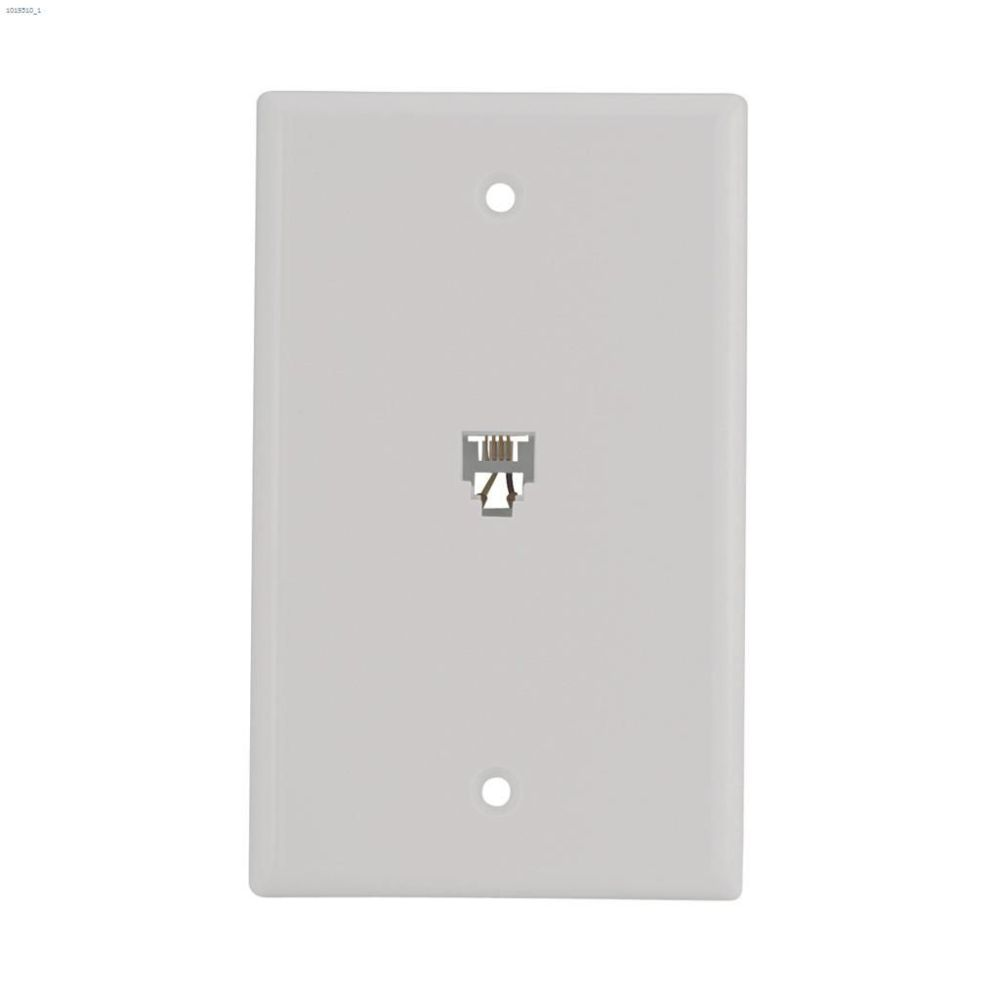 medium resolution of white telephone jack wallplate white telephone jack wallplate cooper wiring devices