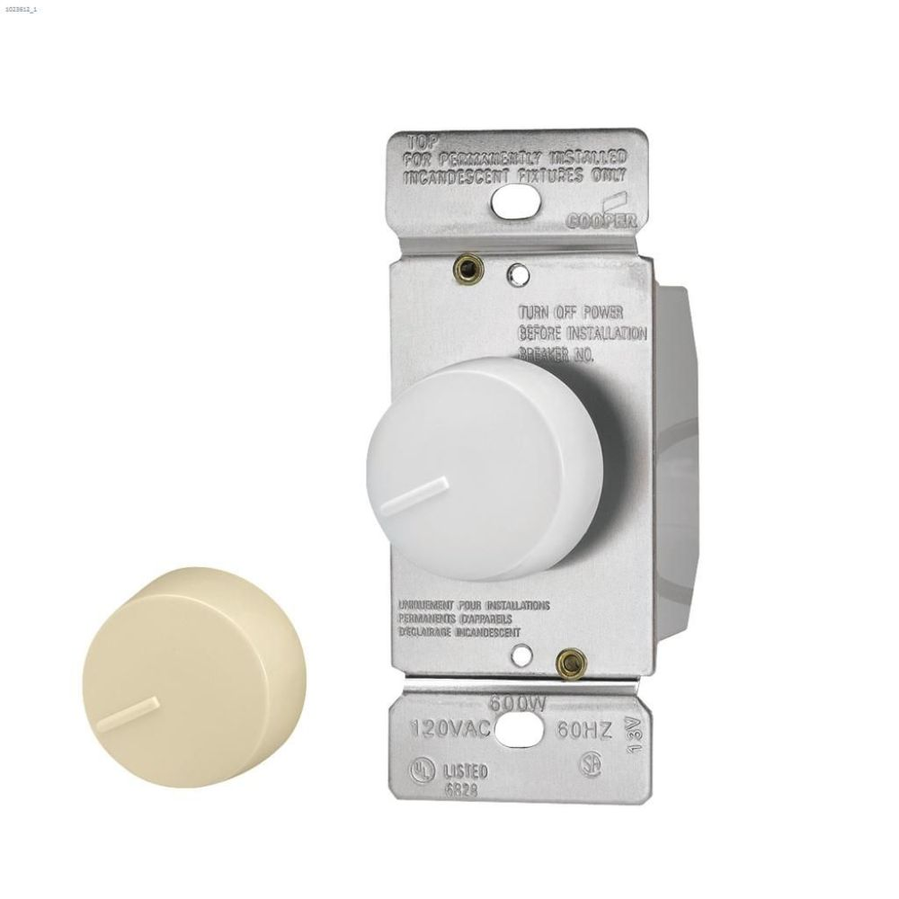 medium resolution of ivory white rotary dimmer 120v 1p 3w
