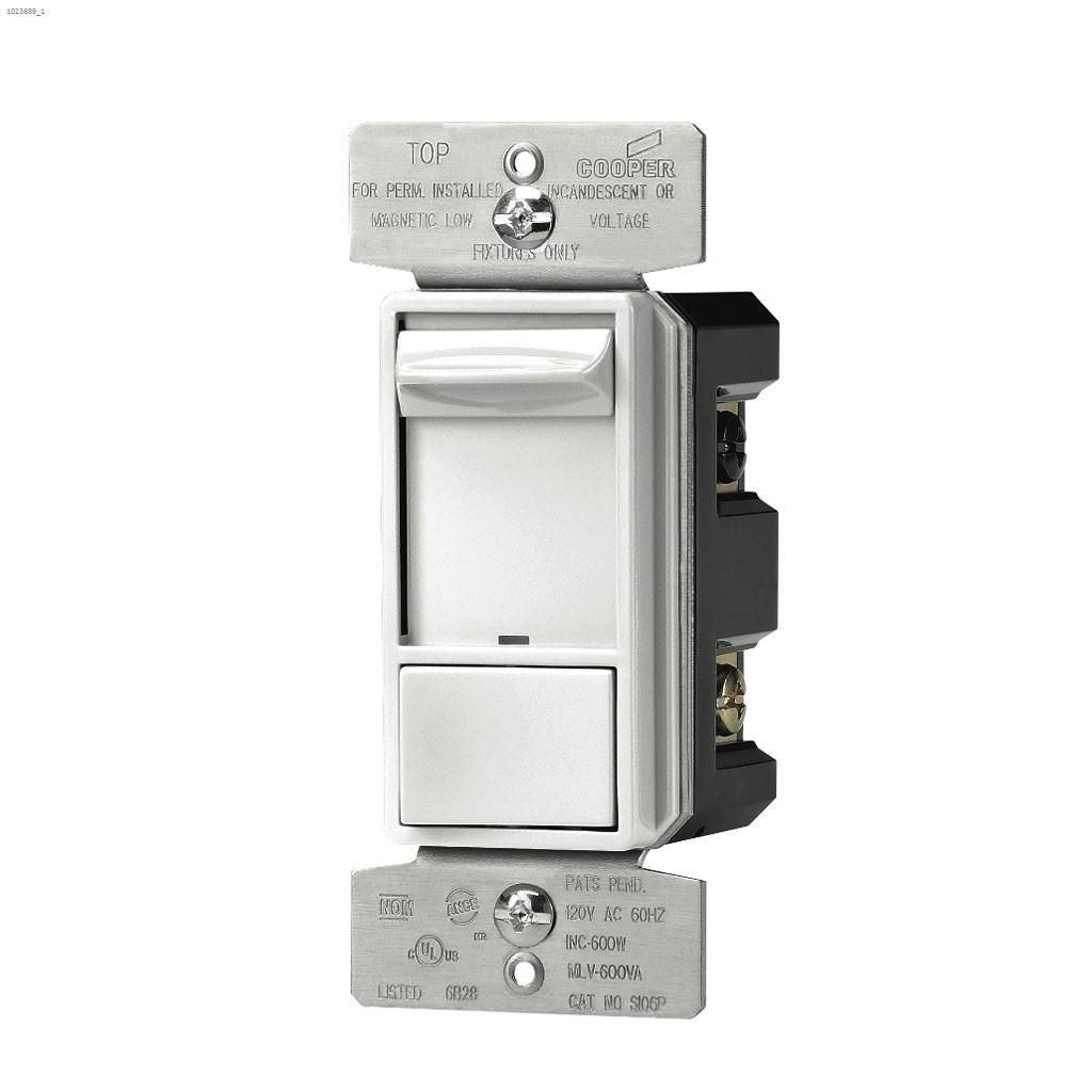 hight resolution of white slide dimmer 120v 1p 3w