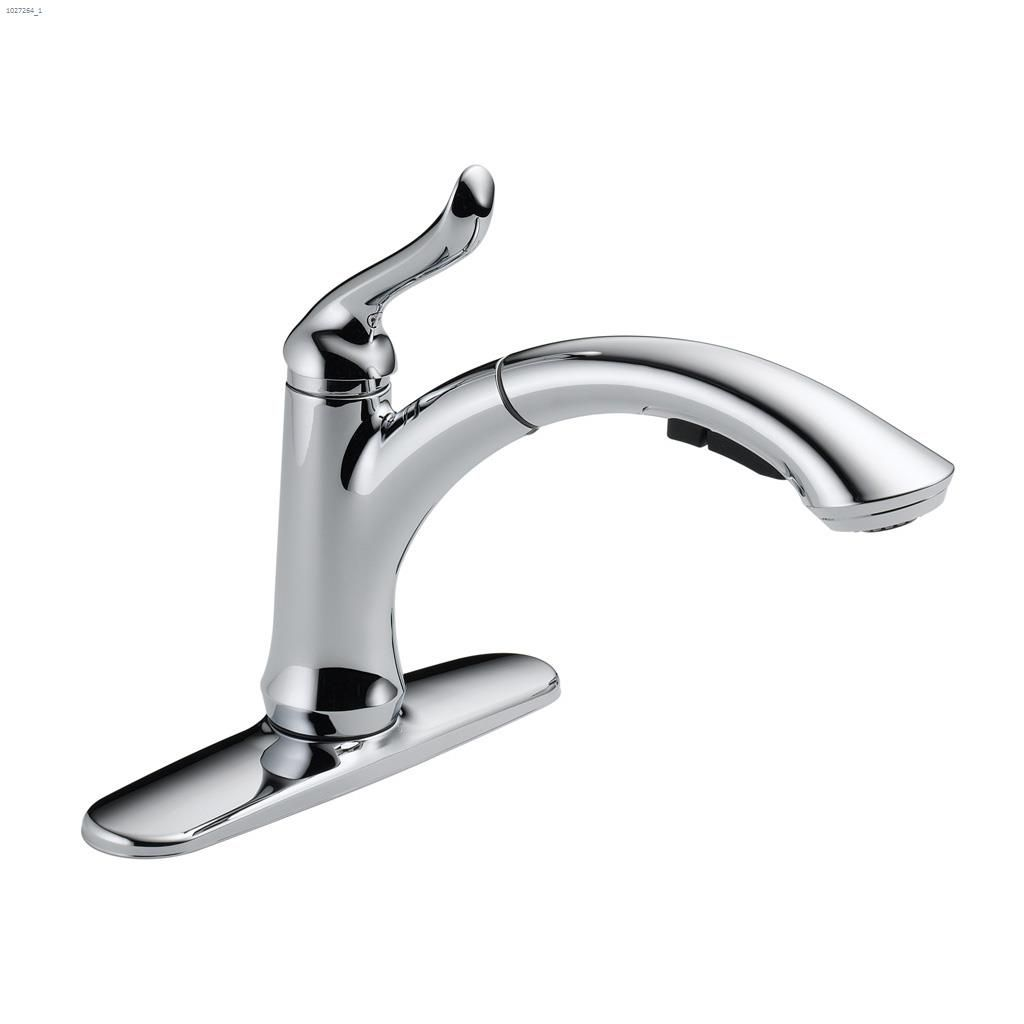 pull out kitchen faucets interior design kent ca delta faucet chrome linden u2122