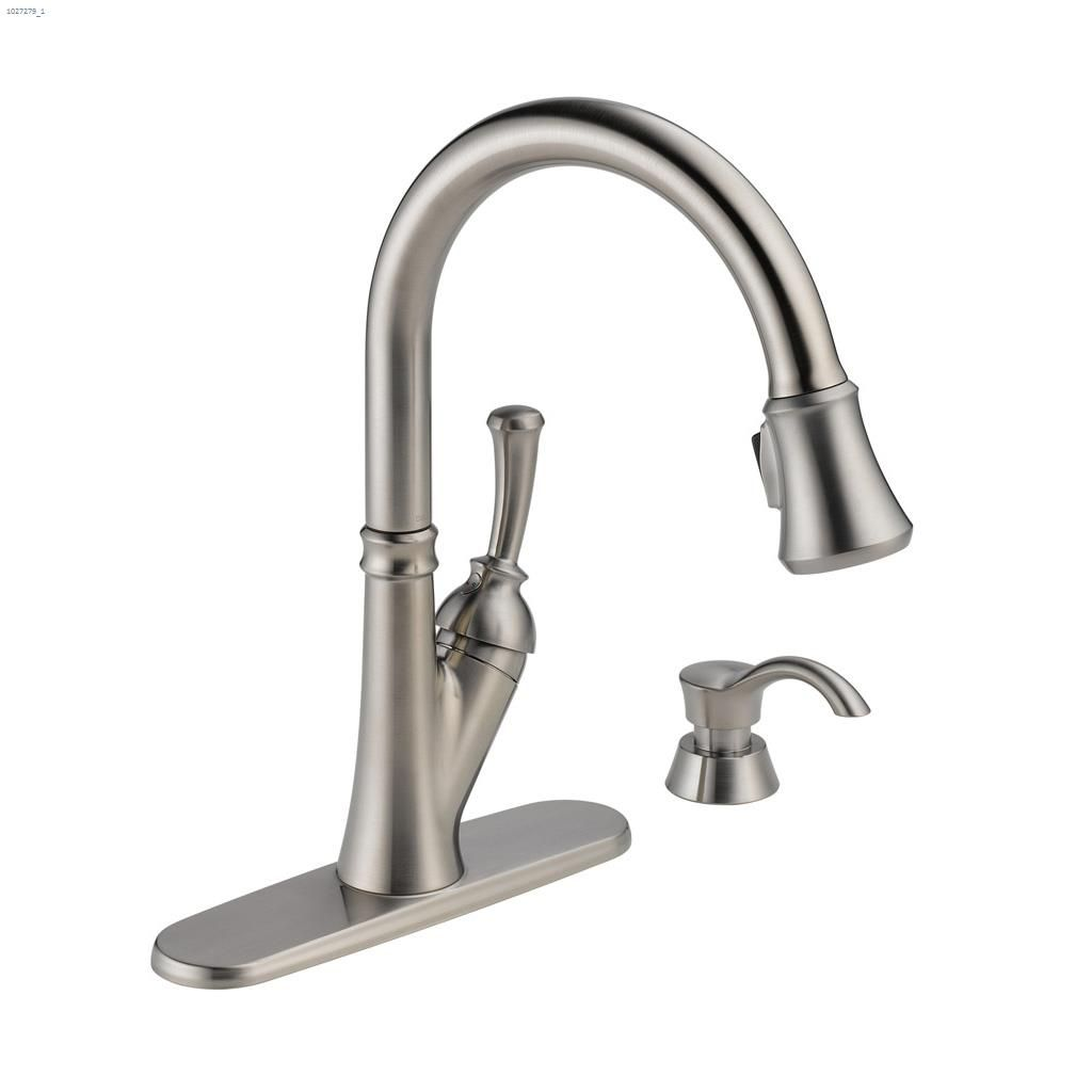 pull out kitchen faucets oak chairs kent ca delta faucet lever savile down u00ae