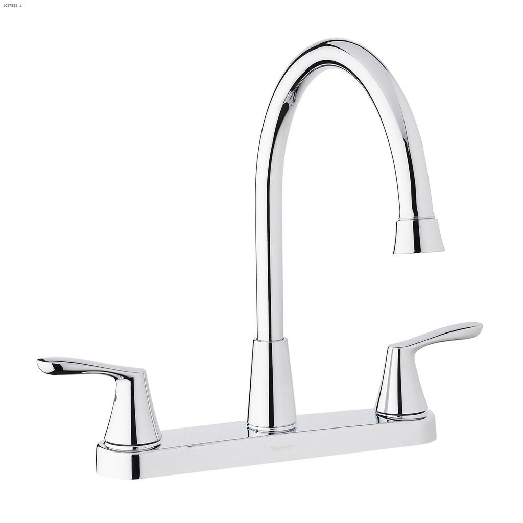 kitchen faucet cook stoves kent ca taymor industries 2 handle lever infinity