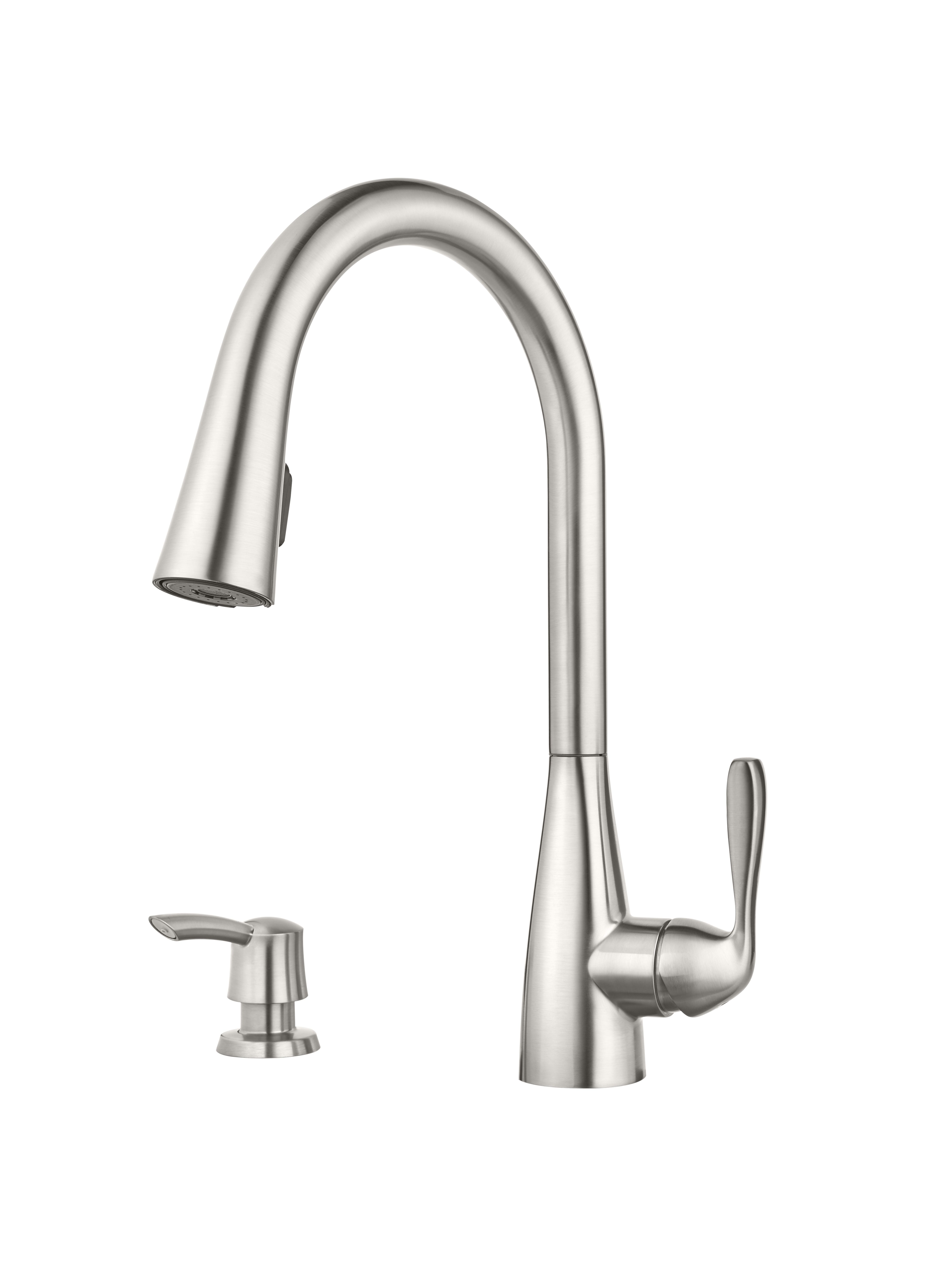 stainless steel kitchen faucets wall cabinets with glass doors kent ca lima single handle faucet your
