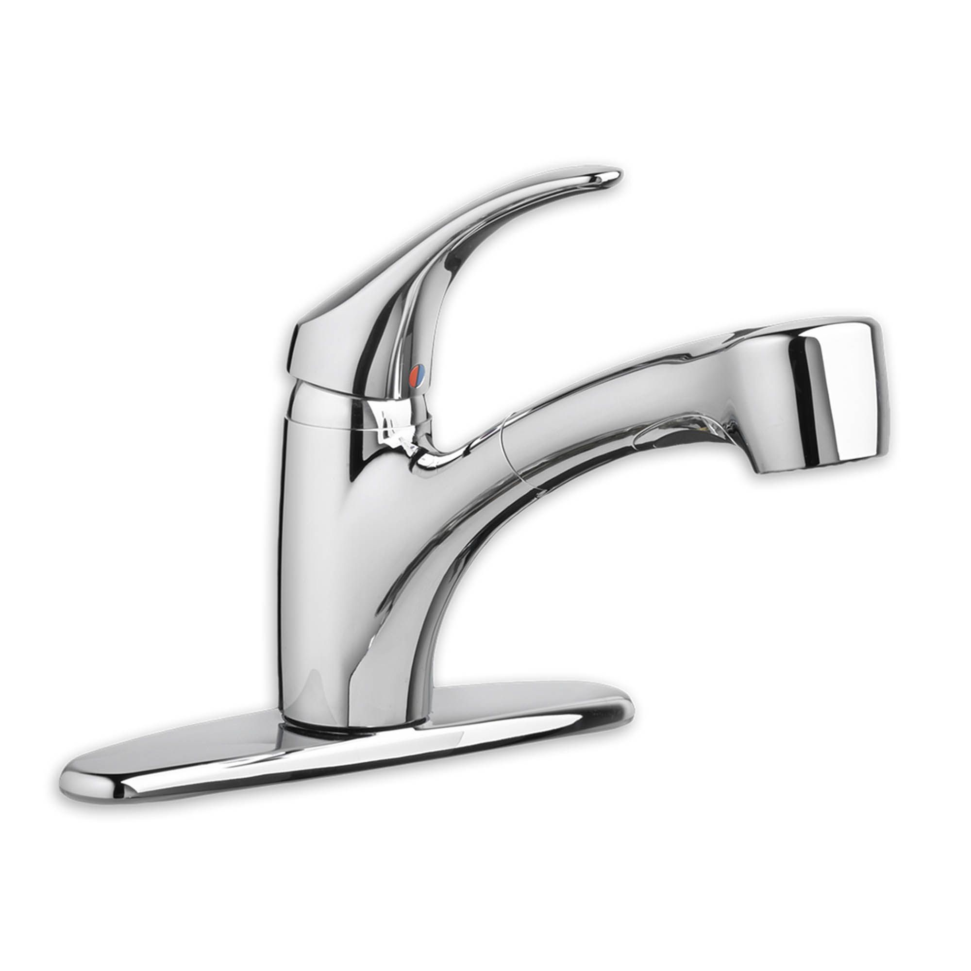 chrome kitchen faucet rolling cabinet kent ca edgemere single handle pull out