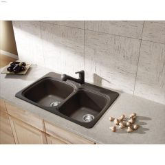 sinks kitchen lighting in kent ca bar building supplies your vienna 2 bowl sink faucet combo