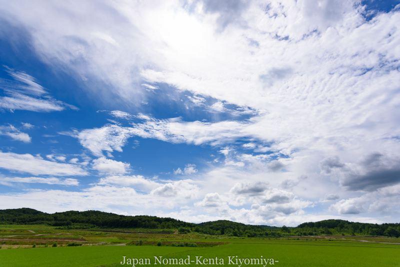 自転車日本一周80日目(留萌黄金岬)-Japan Nomad (18)