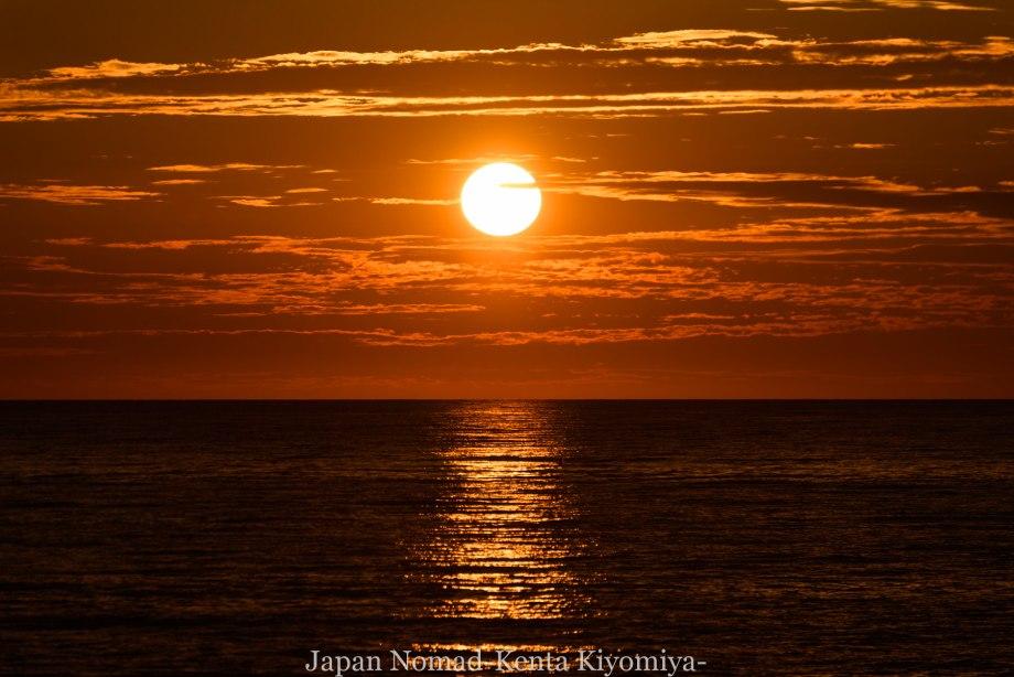 自転車日本一周80日目(留萌黄金岬)-Japan Nomad (29)