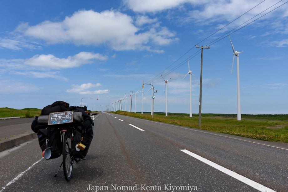自転車日本一周82日目(オロロンライン)-Japan Nomad (18)