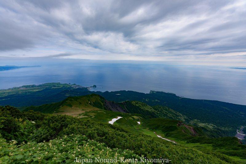 自転車日本一周86日目(利尻山)-Japan Nomad (26)