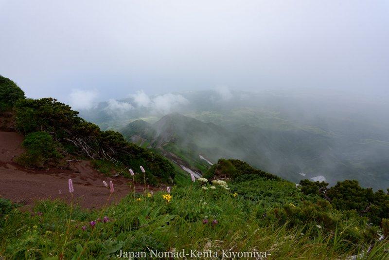 自転車日本一周86日目(利尻山)-Japan Nomad (28)