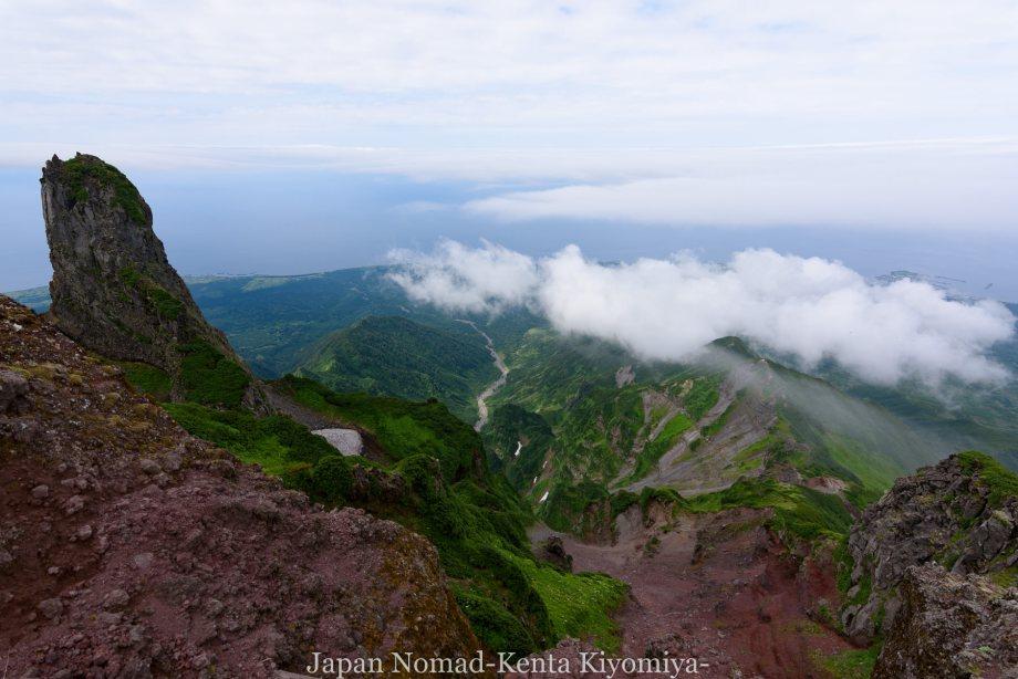 自転車日本一周86日目(利尻山)-Japan Nomad (31)