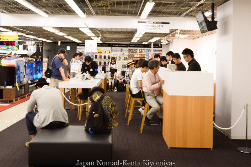 自転車日本一周87日目(iphone修理で札幌へ)-Japan Nomad (17)