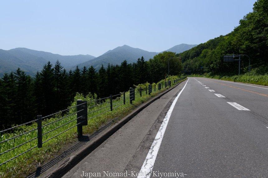 自転車日本一周(日勝峠)-Japan Nomad (17)