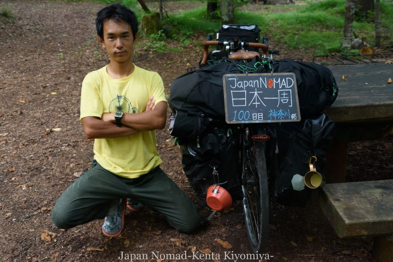 自転車日本一周100日目-Japan Nomad (5)